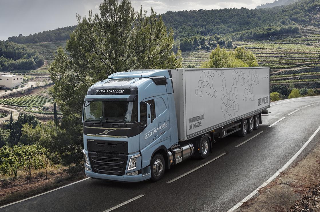 camion volvo metano