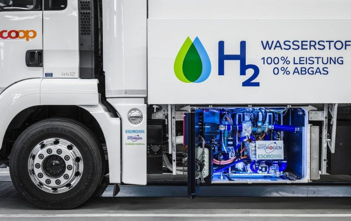 camion a idrogeno