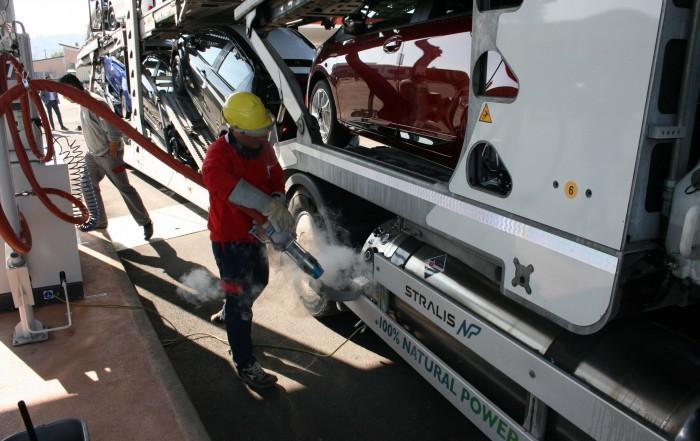 Pedaggio per veicoli a gas