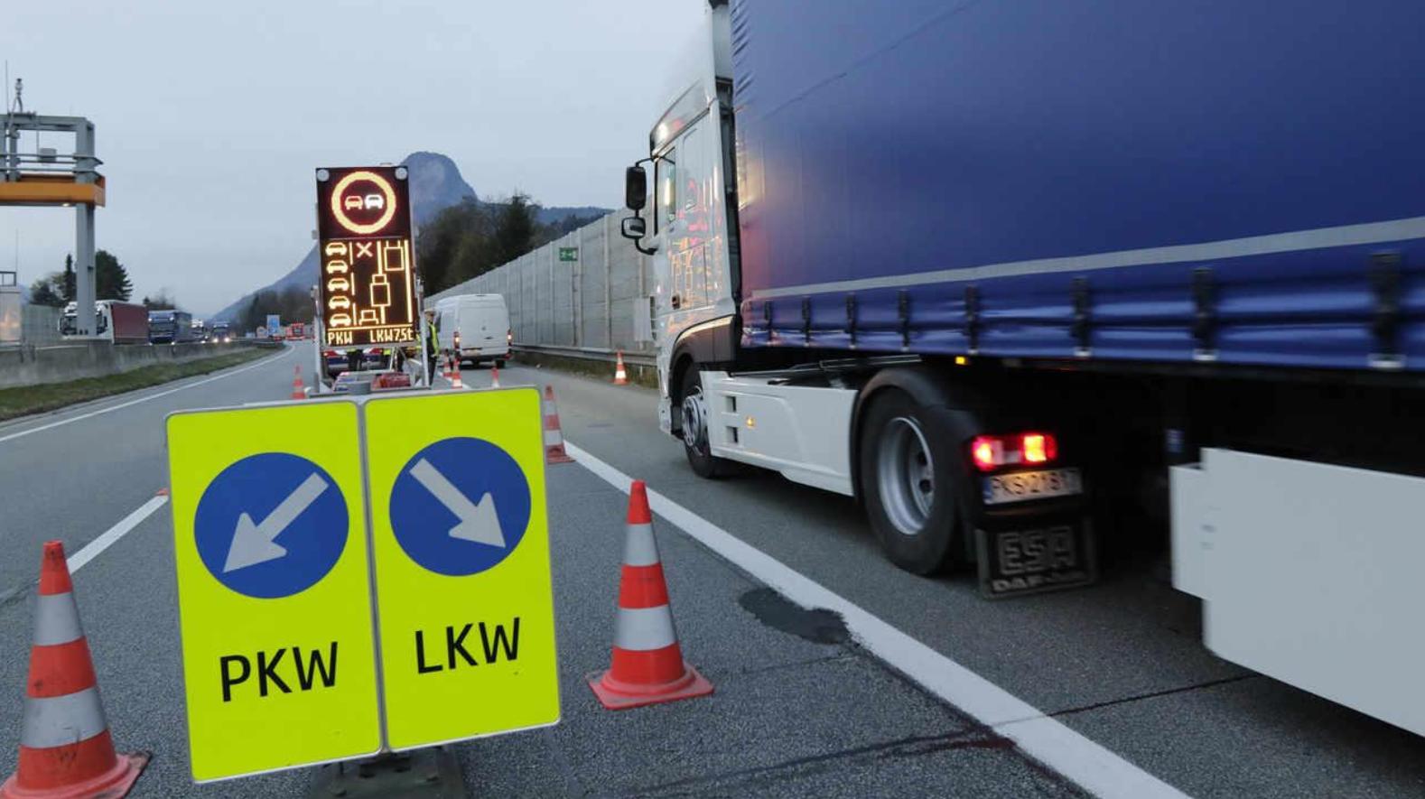 Austria, limitazioni per camion nel primo semestre 2021