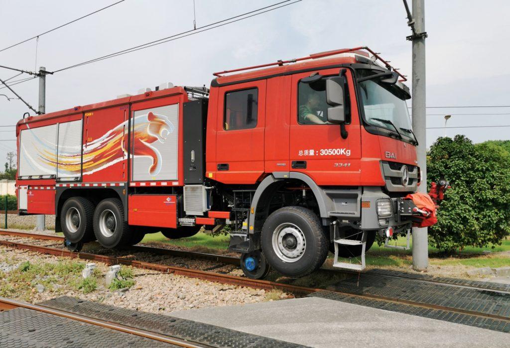 BAI Antincendio strada-rotaia