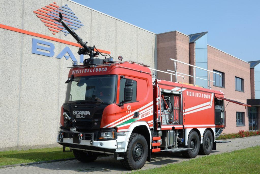 Veicolo Antincendio Scania