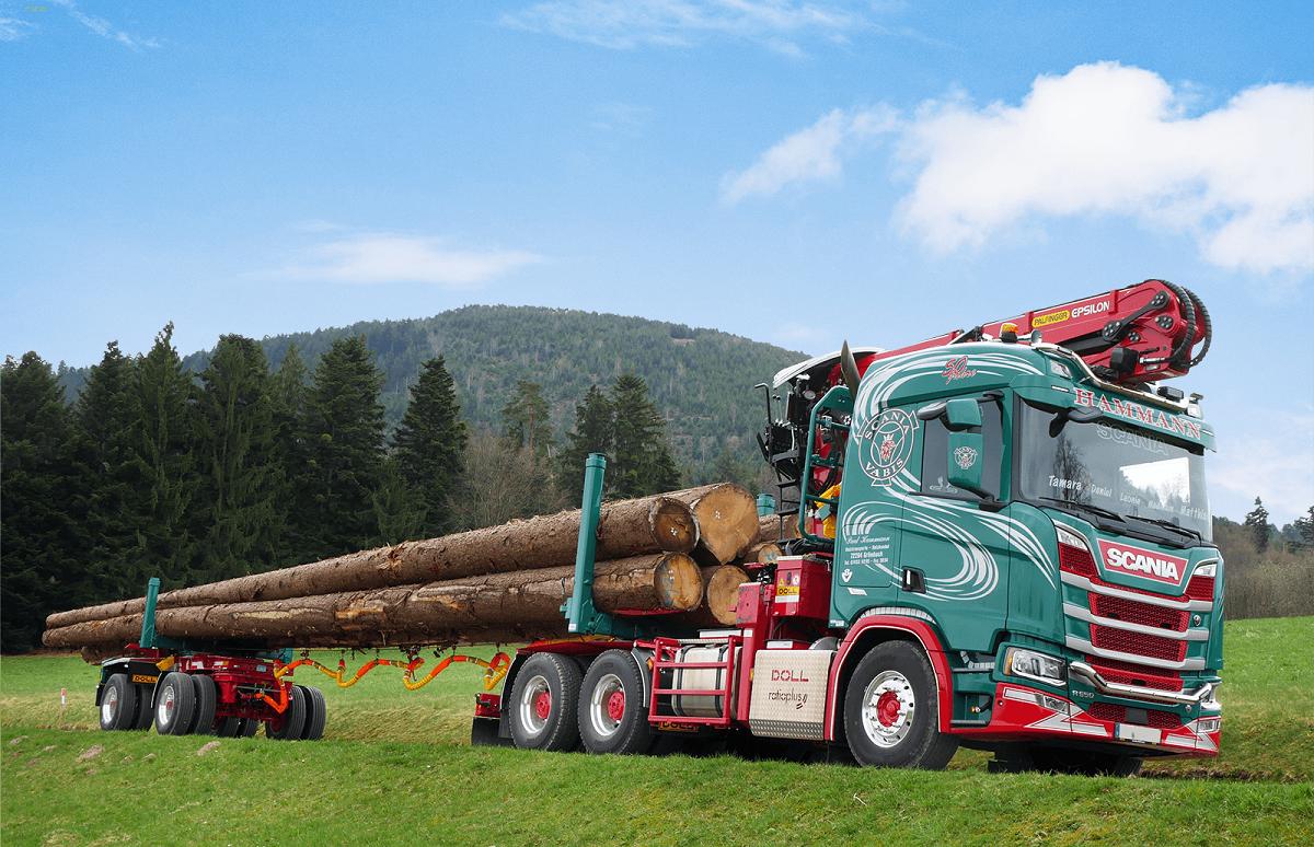 Doll Ratioplus con trattore Scania
