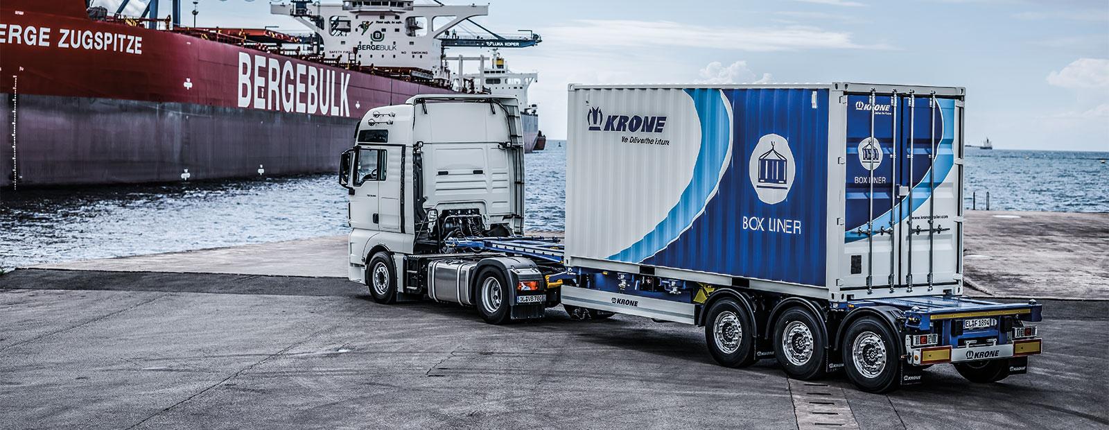 Krone intermodale container