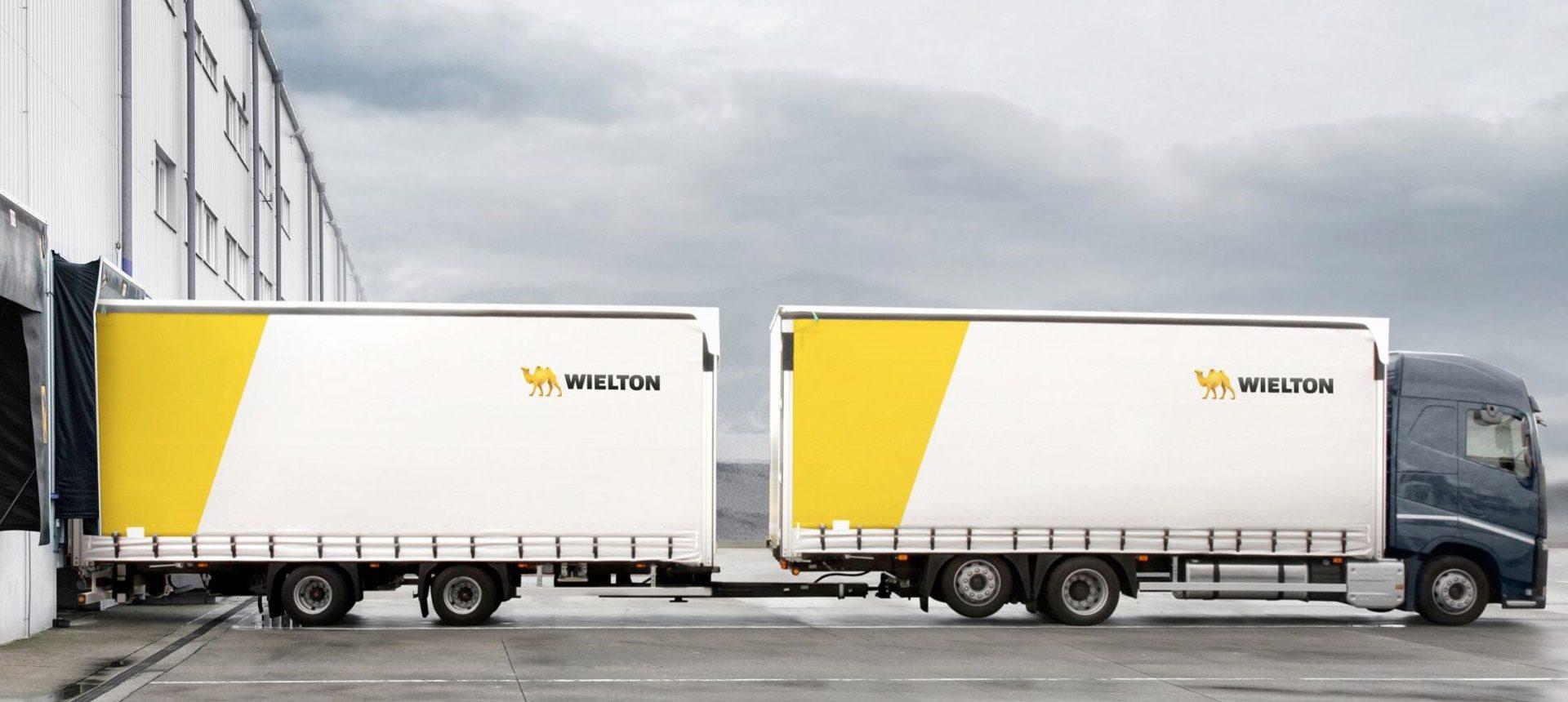 Wielton maxi volume al carico