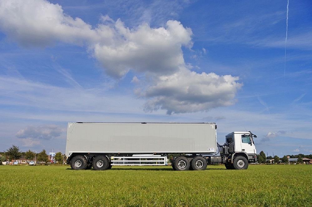 Trailer Knapen Trailers con trattore 6x4