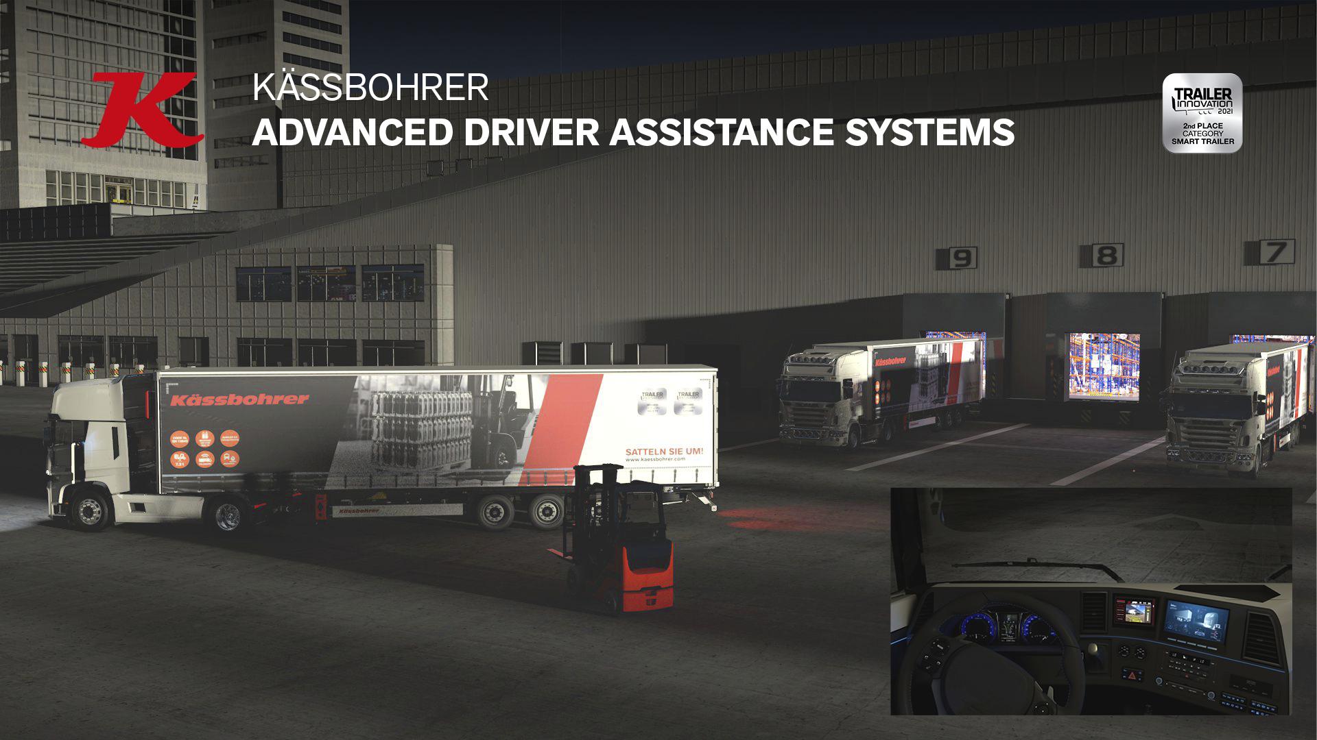 Kässbohrer è stata premiata sia con nuovi prodotti che con sistemi di aiuto per la guida