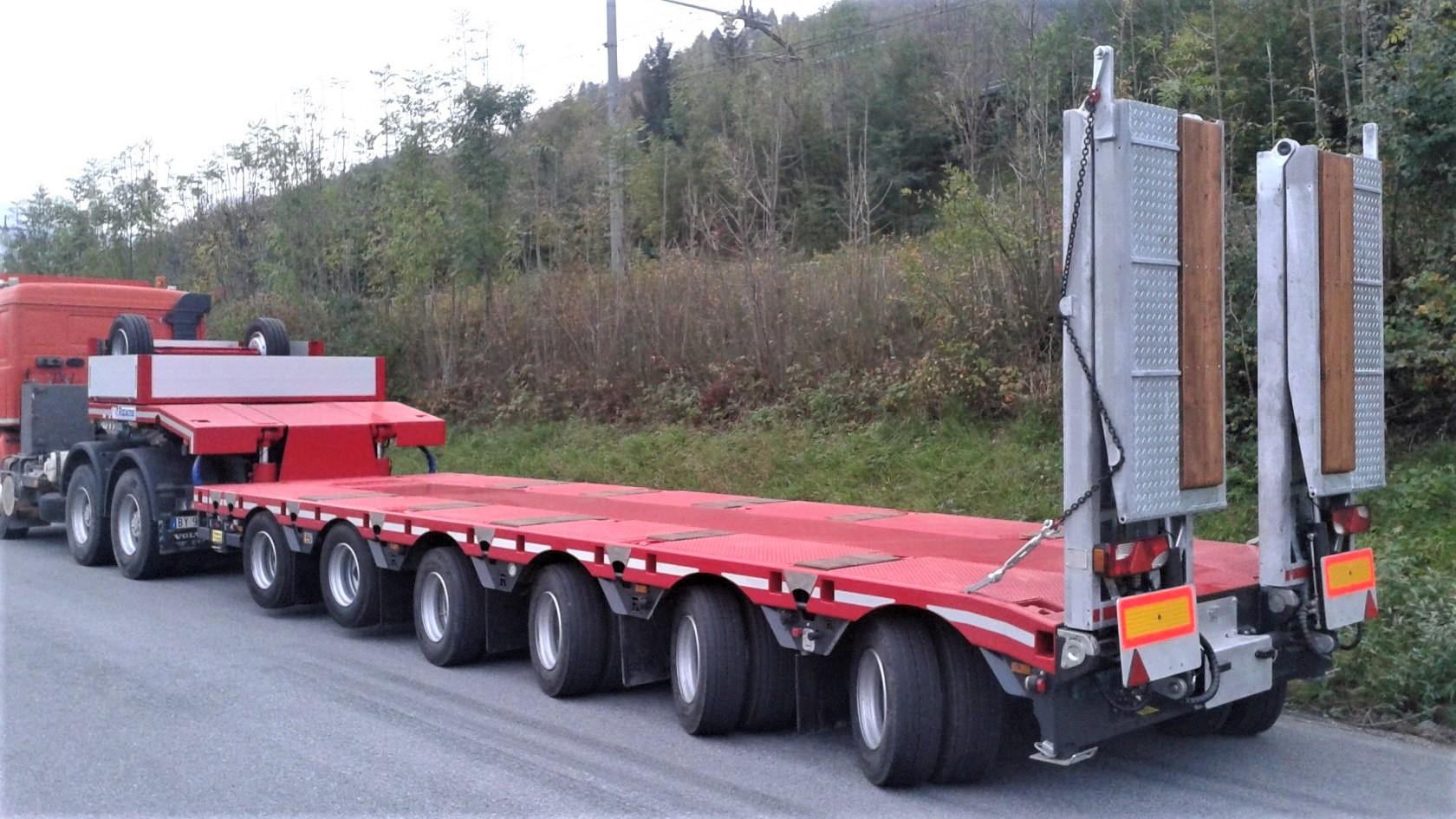 Rigaudo è uno specialista di veicoli per trasporti eccezionali