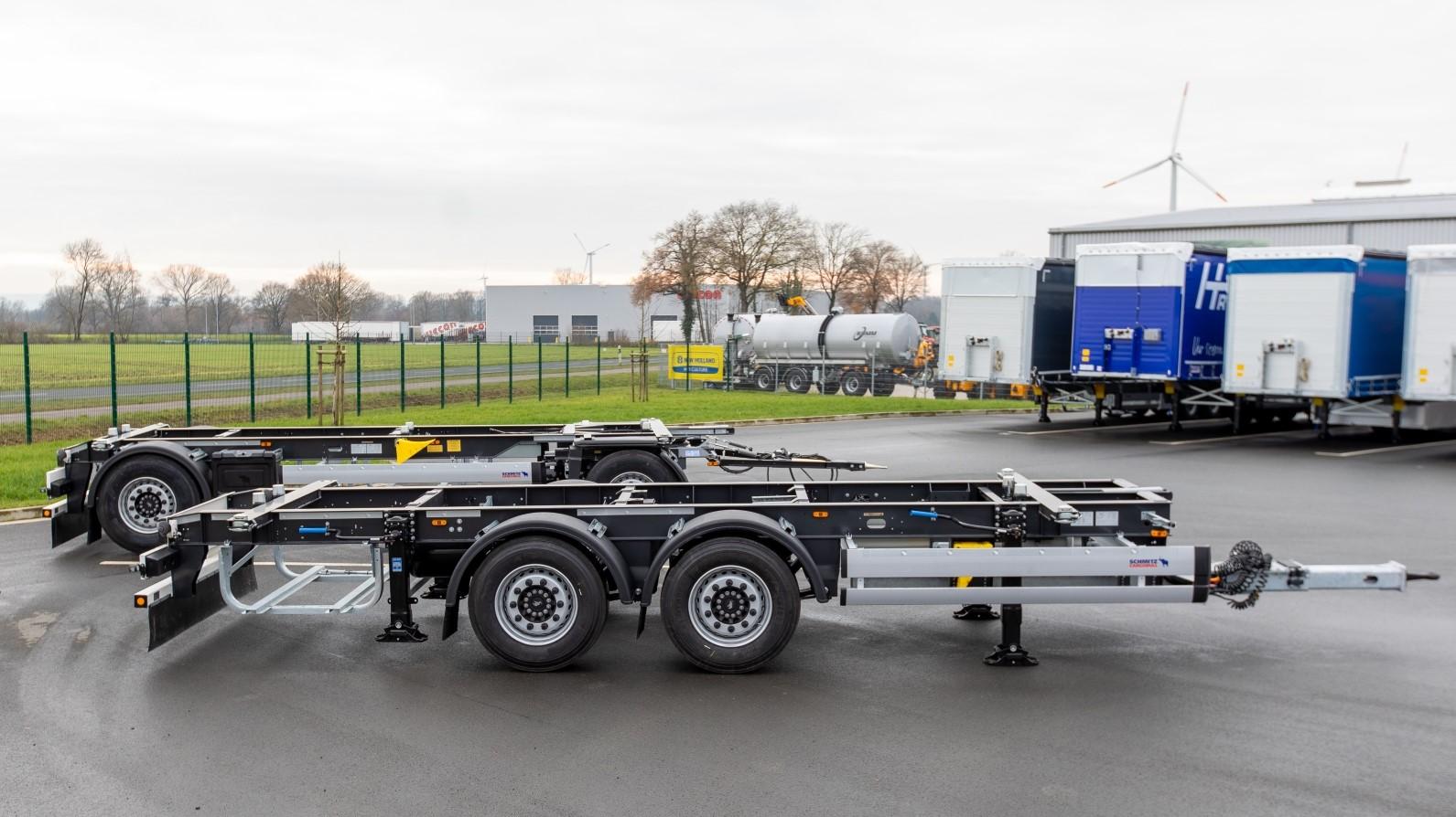 Schmitz Cargobull si appoggia alla specialista Kerex per i nuovi rimorchi per container compatti