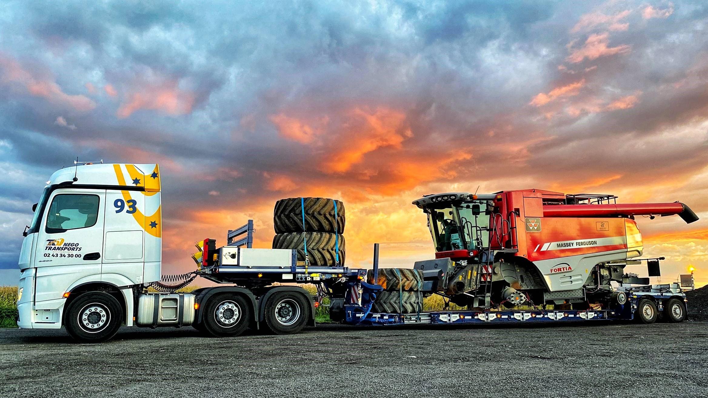 Faymonville ha presentato sette nuovi modelli specifici per il trasporto delle machine operatrici