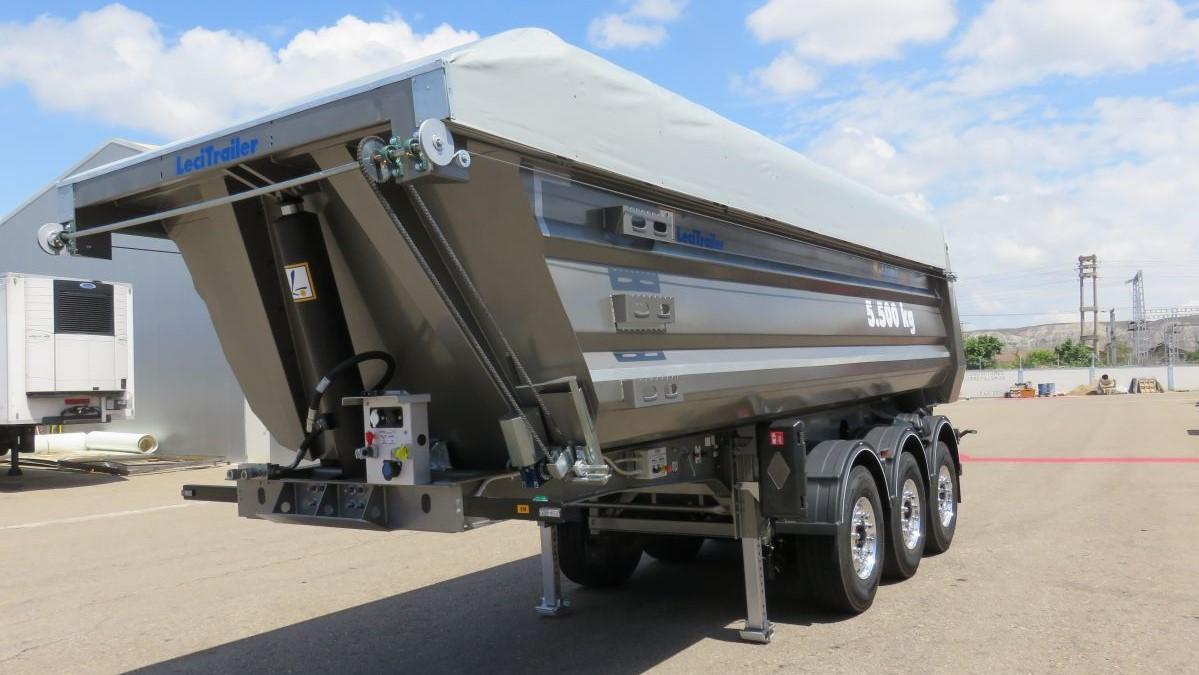 La K-Light di Lecitrailer ha un peso di soli 5.500 kg