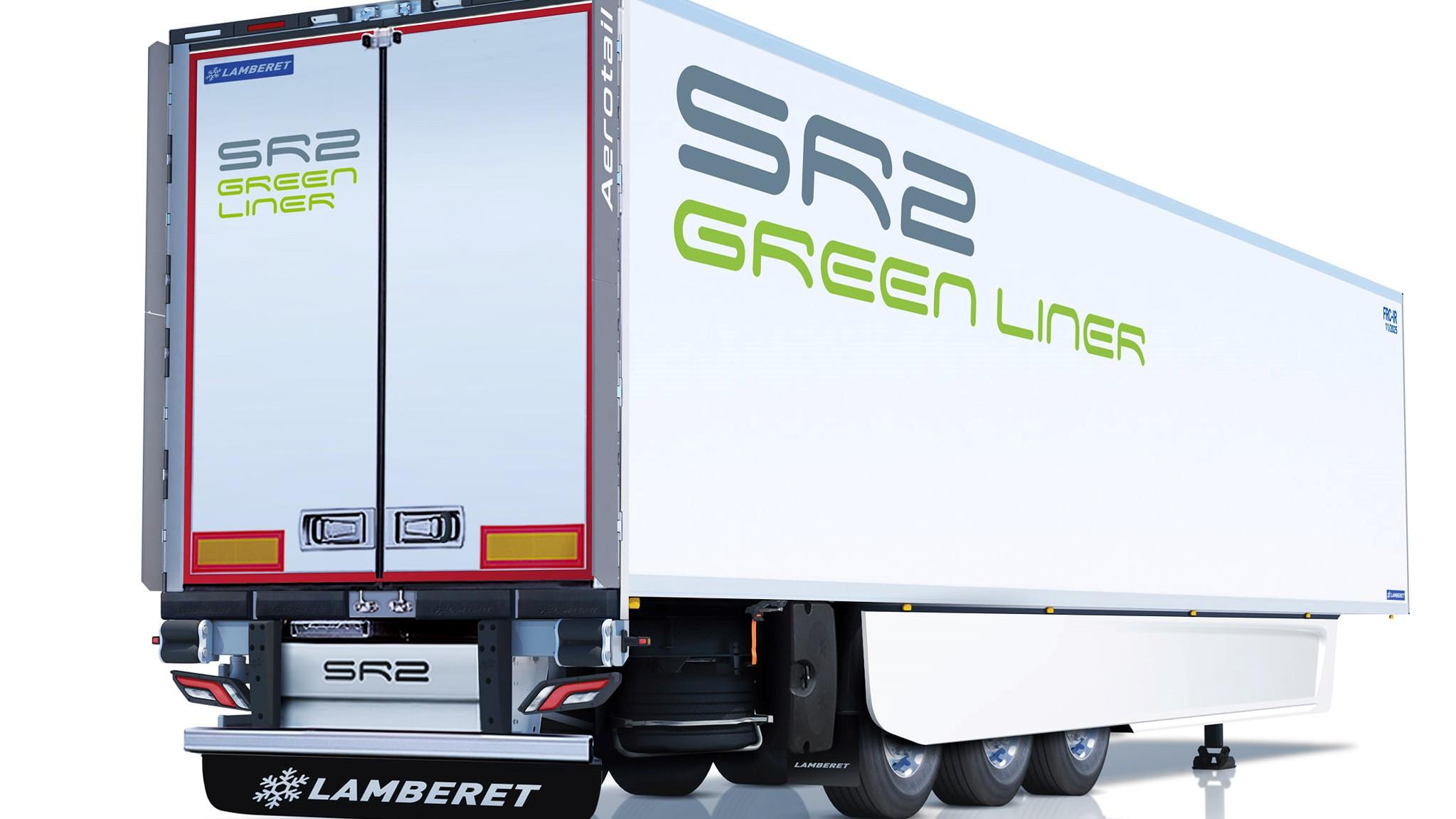 Lamberet SR2 Green Liner è una gamma ottimizzata per bassare i consumi