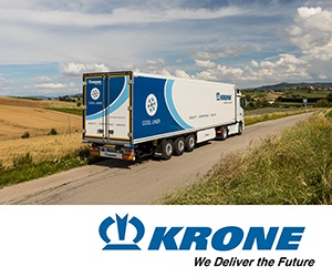 krone real trailer