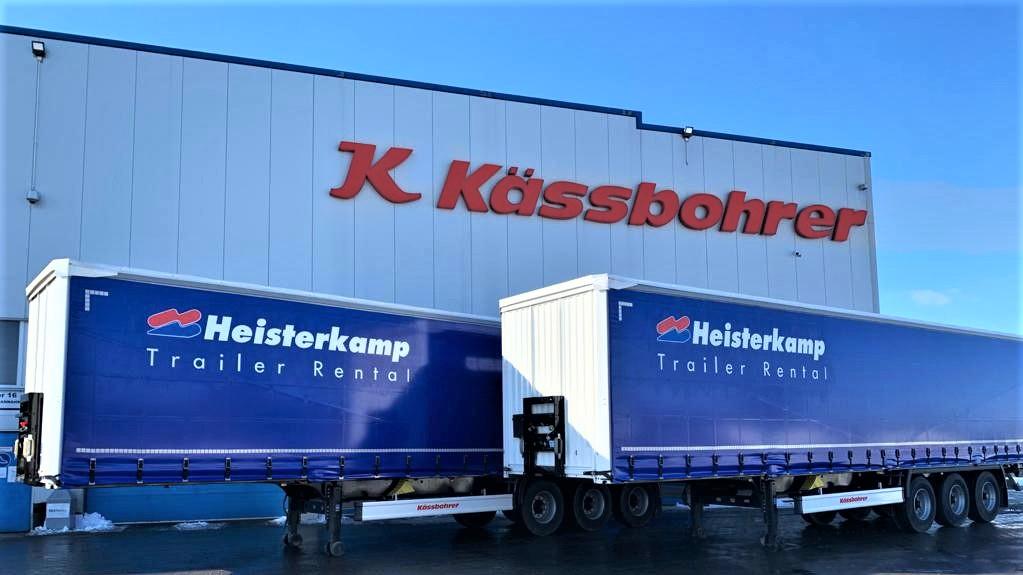 Kaessbohrer ha fornito 100 nuovi trailer ad Heisterkamp
