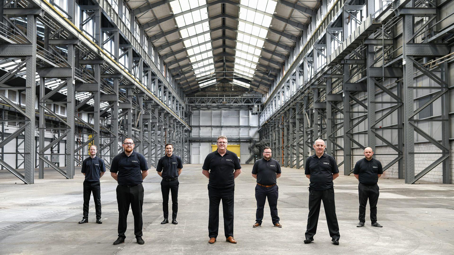 Il team di Schmitz Cargobull per la Gran Bretagna è molto motivato