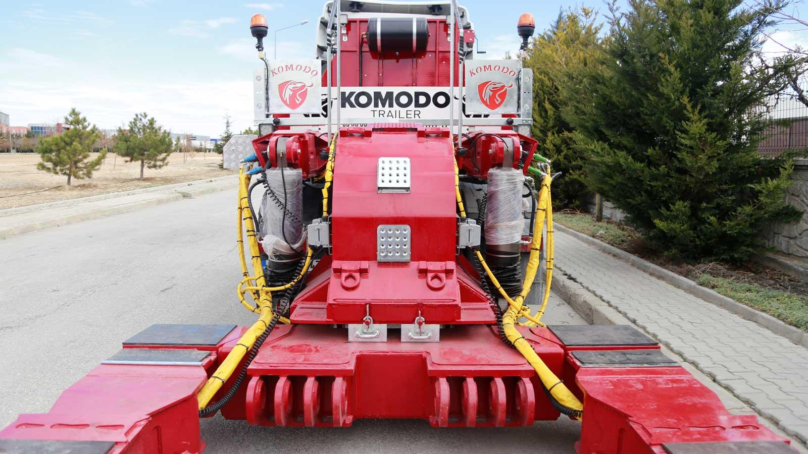 La tecnologia di Komodo Trailers è di alto livello