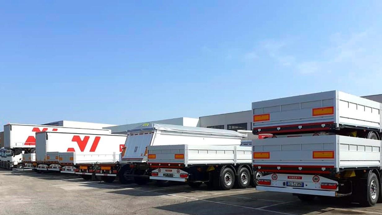 La produzione Viberti avviene in Italia nei pressi di Pescara